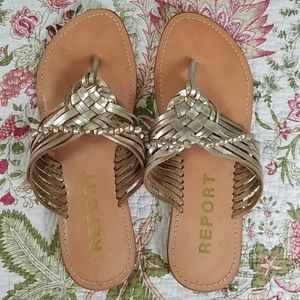 Report Made in India Leather Sandals
